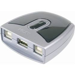 USB 2.0-switch 2 Port ATEN ASS-US221 Silver