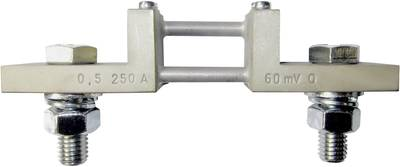 Weigel 60 mV/250 A mjerna skretnica Mjerenje struje 250 A Pad napona (num) 60 mV