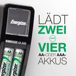 Energizer Mini Charger CH2PC4 punjač okruglih stanica uklj. akumulator nikalj-metal-hidridni micro (AAA), mignon (AA)