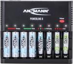 Ansmann Powerline 8 punjač okruglih stanica nikalj-kadmijev, nikalj-metal-hidridni micro (AAA), mignon (AA)