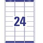 Avery-Zweckform L7159-100 etikete 63.5 x 33.9 mm papir bijela 2400 St. trajno naljepnice za adrese, univerzalne naljepni