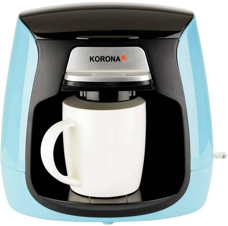 Korona 12207 aparat za kavu svijetloplava, crna  Kapacitet čaše=2
