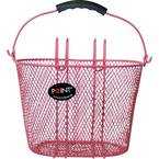 Point 5107700 košara za bicikl ružičasta