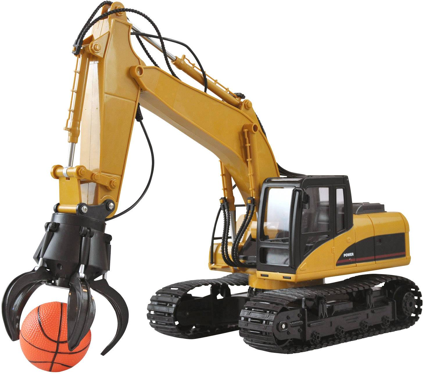 Amewi  1:14 rc funkcijski model za početnike građevinsko vozilo uklj. baterija i kabel za punjenje