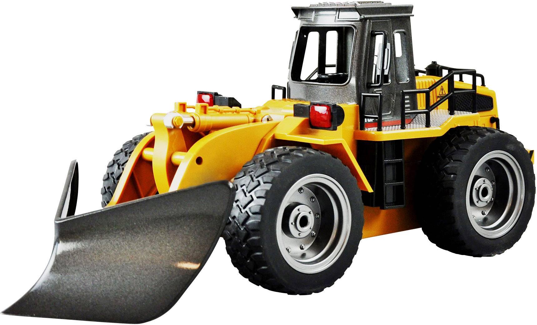 Amewi  1:18 rc funkcijski model za početnike građevinsko vozilo uklj. baterija i punjač