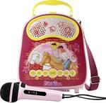 X4 Tech Bobby Joey Casey Music Bibi & Tina uređaj za karaoke Bluetooth, USB uklj. mikrofon ružičasta