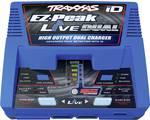 Traxxas EZ-Peak Live Dual punjač baterija za modele 26 A litijev-polimerski, nikalj-metal-hidridni minus-delta-u isključivanje, prepoznavanje baterije, praćenje temperature