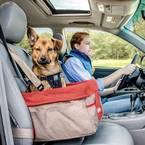Kurgo Skybox auto sjedalica za pse crvena, smeđa boja  1 St.