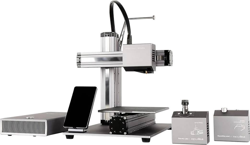 snapmaker A150 3D pisač uklj. kućište, uključuje softver, integrirana kamera