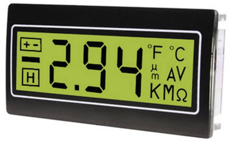 TDE Instruments DPM962-TG  Digitalni multimetar za ugradnju u razvodne ploče ± 200 mV