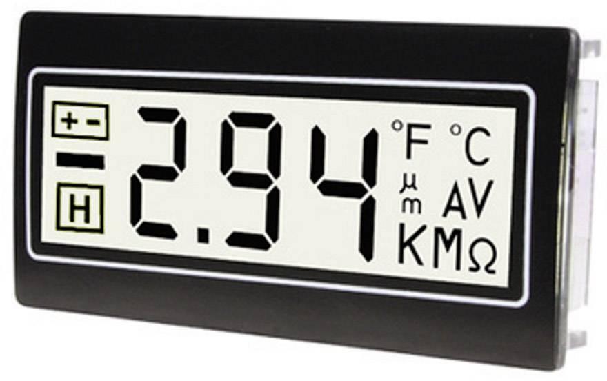 TDE Instruments DPM961-TW digitalni ugradbeni mjerni uređaj Digitalni multimetar za ugradnju u razvodne ploče ± 200 mV