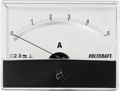VOLTCRAFT AM-86X65/5A/DC Ugradbeni mjerni uređaj AM  5 A pomični svitak