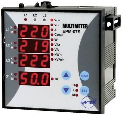 ENTES EPM-07S-96 uređaj za analizu mreže  1-fazno, 3-fazno