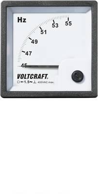 VOLTCRAFT AM-72X72/50HZ Analogni ugradbeni mjerni uređaj  45 - 55 Hz pomični svitak