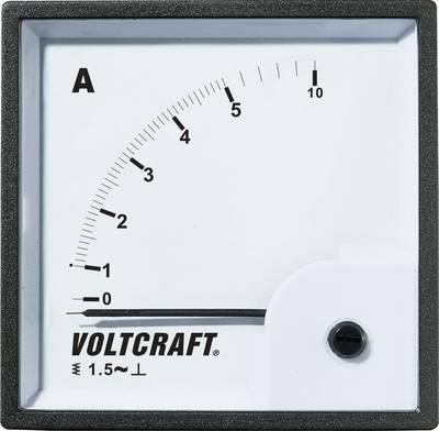 VOLTCRAFT AM-72X72/5A Analogni ugradbeni mjerni uređaj  5 A pomično željezo