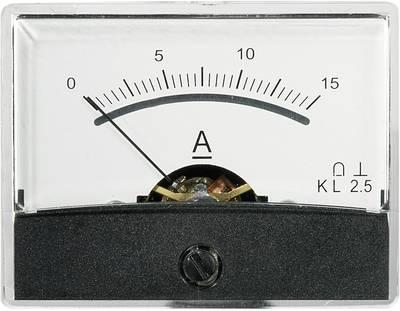 VOLTCRAFT AM-60X46/15A/DC Ugrađeni mjerni uređaj AM-60x46  15 A pomični svitak