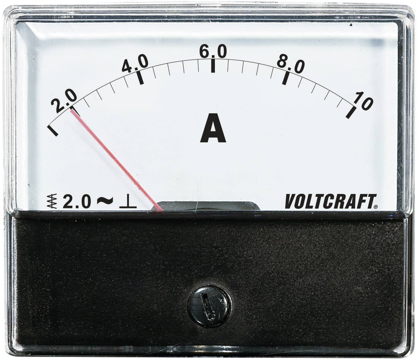 VOLTCRAFT AM-70X60/10A Ugradbeni mjerni uređaj AM  10 A pomično željezo