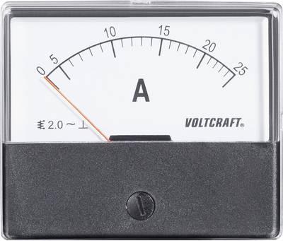 VOLTCRAFT AM-70X60/25 A Ugradbeni mjerni uređaj AM  25 A pomično željezo