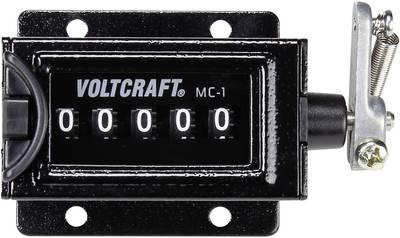 VOLTCRAFT MC-1 mehanički brojač, dimenzije za ugradnju 58 x 47 mm