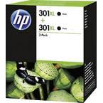 HP 301 XL patrona tinte 2-dijelno pakiranje original crn D8J45AE patrone, komplet od 2 komada