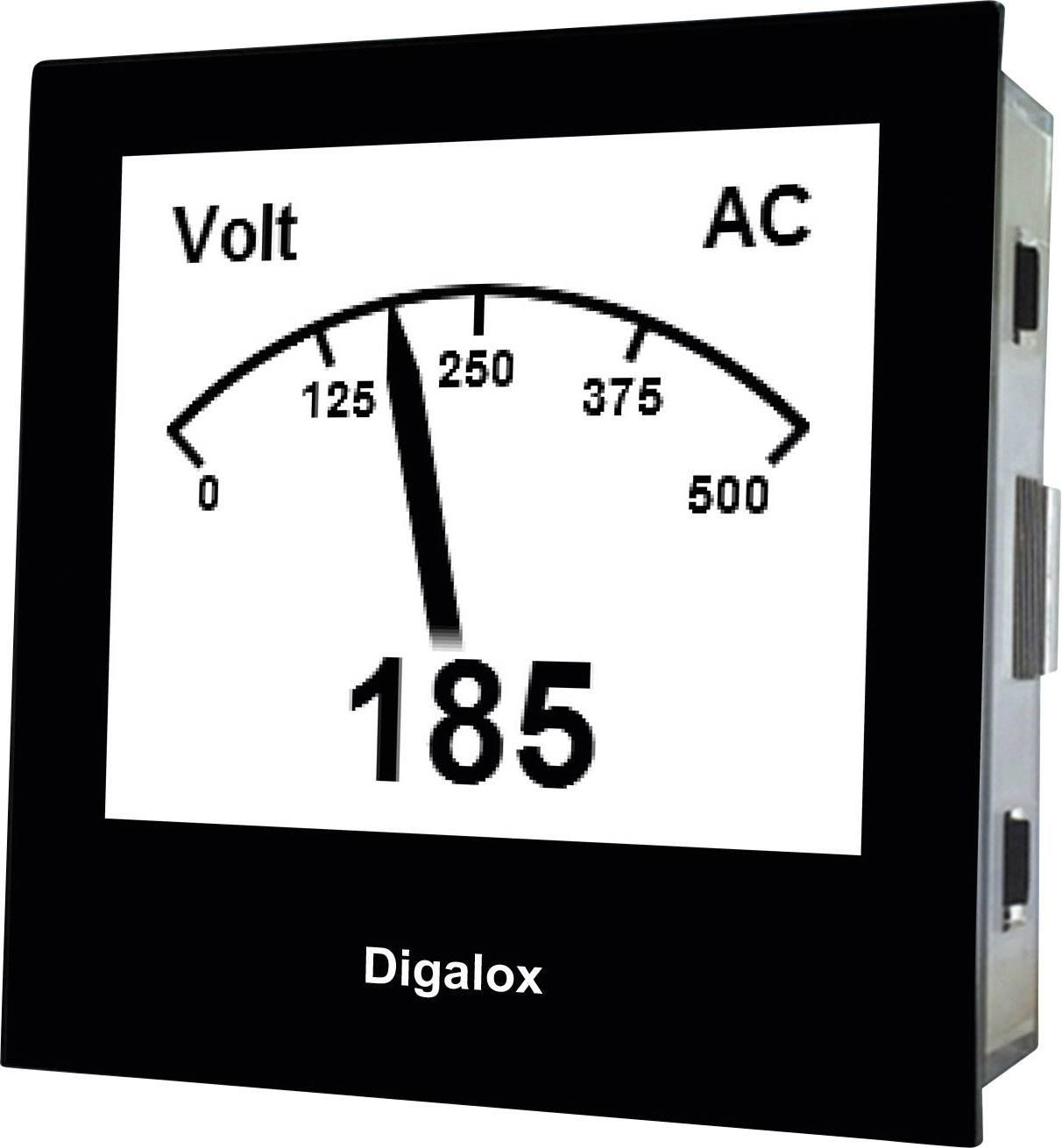 TDE Instruments Digalox DPM72-AVP digitalni ugradbeni mjerni uređaj