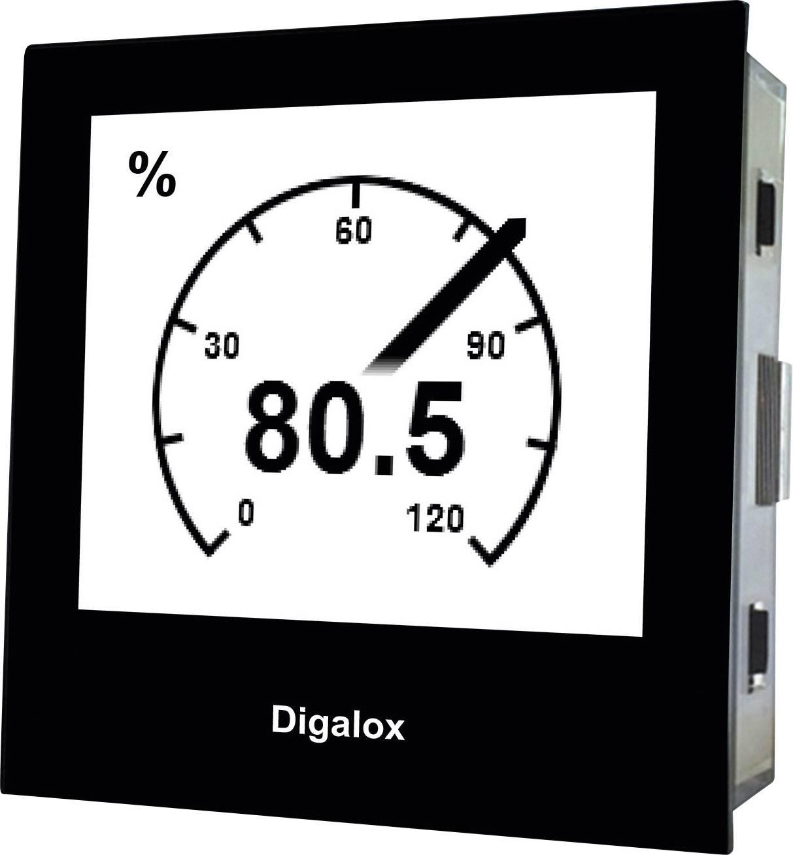 TDE Instruments Digalox DPM72-PP digitalni ugradbeni mjerni uređaj