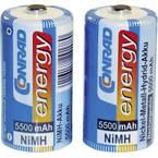 Conrad energy HR14 baby (c) akumulator NiMH 5500 mAh 1.2 V 2 St.