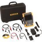 Fluke 190-502/UN/S ručni osciloskop (scope-meter)  500 MHz 2-kanalni 2.5 GSa/s 10 kpts 8 Bit ručni uređaj, digitalni osc