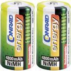 Conrad energy Endurance HR14 baby (c) akumulator NiMH 4800 mAh 1.2 V 2 St.