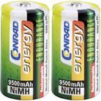 Conrad energy Endurance HR20 mono (l) akumulator NiMH 9500 mAh 1.2 V 2 St.