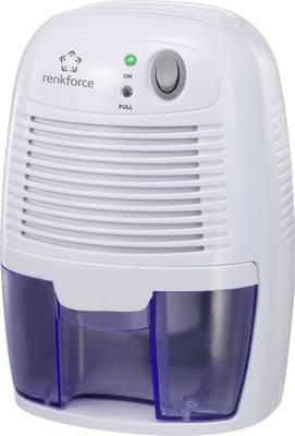 Renkforce HD-68W odvlaživači 20 m²  0.011 l/h bijela, plava boja