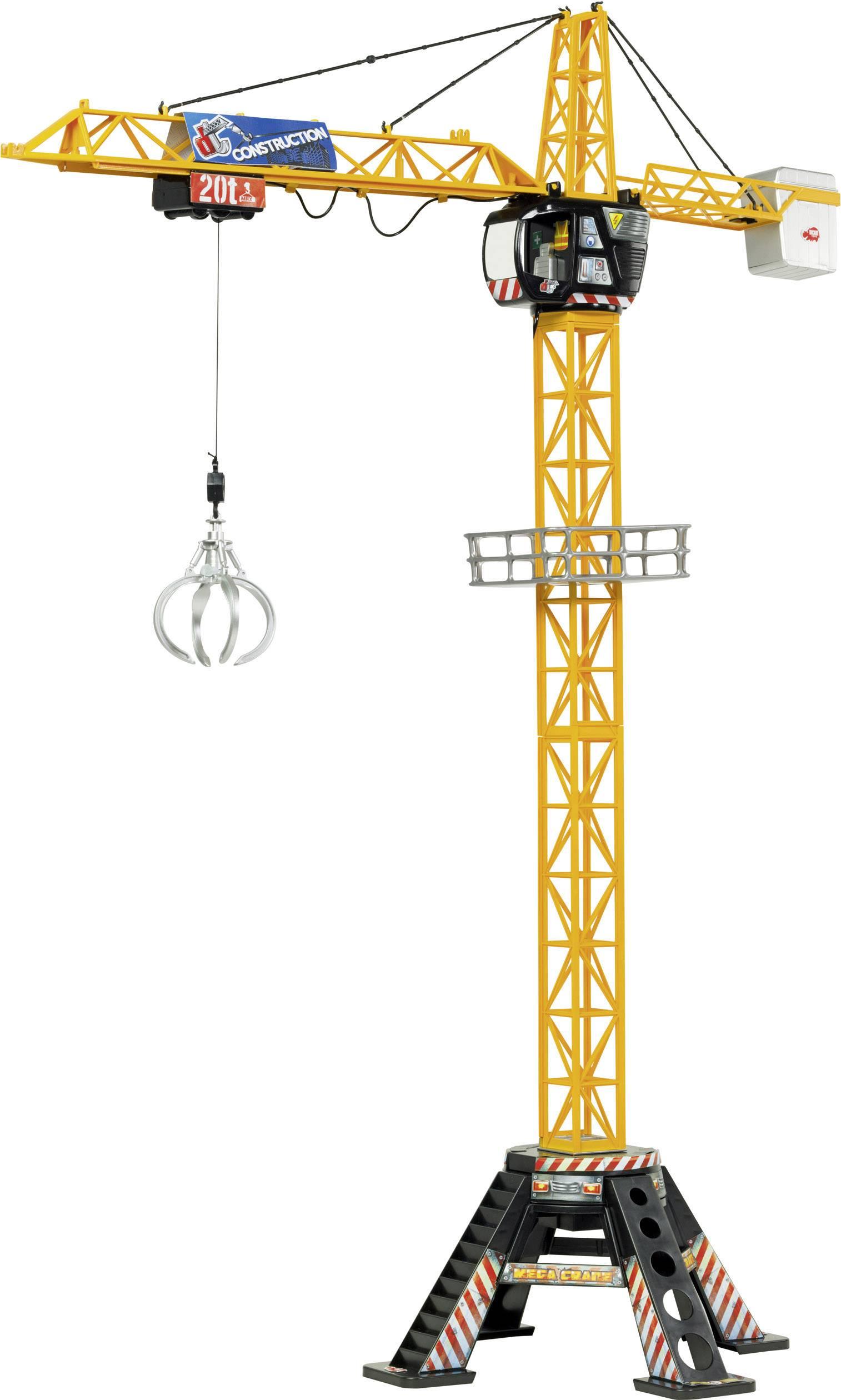 Dickie Toys Električna građevinska mega dizalica  rc funkcijski model za početnike građevinsko vozilo