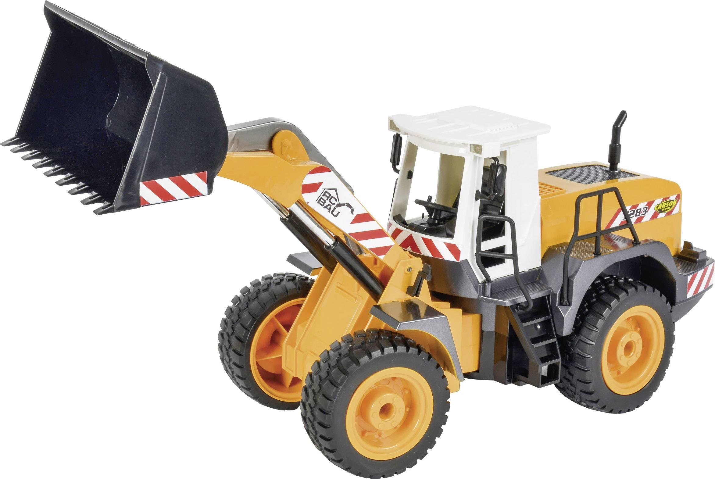 Carson RC Sport Utovarivač 1:20 rc funkcijski model za početnike građevinsko vozilo uklj. baterija, punjač i odašiljačka