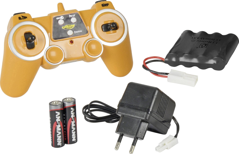 Carson RC Sport Kamion 1:20 rc funkcijski model za početnike građevinsko vozilo uklj. baterija, punjač i odašiljačka bat