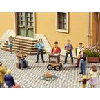 NOCH 0012820 H0 zvučna scena ulični glazbenik