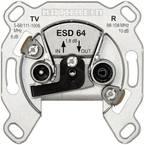 Kathrein ESD 64 antenska utičnica tv, ukw podžbukna utičnica za provlačenje