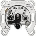 Kathrein ESM 40/G antenska utičnica tv, ukw, data podžbukna utičnica za jedan priključak