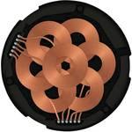 ZENS indukcijski punjač 1000 mA Qi DIY ZEBI01B00 Izlazi qi standard crna