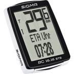 Sigma BC 16.16 STS CAD bežično računalo za bicikl kodirani prijenos sa senzorom kotača, sa sustavom senzora