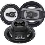 Crunch GTI-62 3-sustavski triaksialni zvučnik za ugradnju 180 W Sadržaj: 1 St.