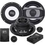 Crunch GTI-6.2c komplet 2-sustavskih ugradbenih zvučnika 200 W Sadržaj: 1 Set