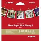 Canon Photo Paper Plus Glossy II PP-201 2311B060 foto papir 13 x 13 cm 265 gm² 20 list sjajan