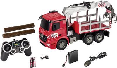 Carson Modellsport Kamion za cjepanice 1:20 rc funkcijski model za početnike poljoprivredno vozilo uklj. baterija, punja