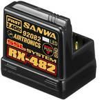 SANWA RX-482 4-kanalni prijamnik 2,4 GHz Sustav utičnica jr