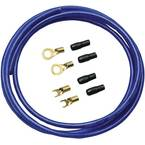 Sinuslive komplet strujnih kablova za auto HiFi   10 mm²   pozlaćen