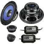 Sinustec ST-165 komplet 2-sustavskih ugradbenih zvučnika 300 W Sadržaj: 1 Set