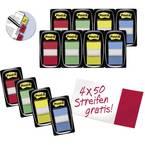 3M ljepljive trake FT600003493 24 blokova/paket crvena, žuta, plava boja, zelena