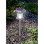 Esotec solar svjetlo za vrt  Sunny 102093   led  toplo bijela, neutralna bijela plemeniti čelik
