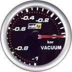 raid hp 660240 ugradbeni instrument za motorna vozila mjerilo vakuuma Mjerno podučje -1 - 0 bar nightflight bijela, crve