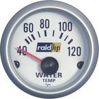 raid hp 660220 ugradbeni instrument za motorna vozila mjerač temperature vode Mjerno podučje 40 - 120 °C srebrna serija